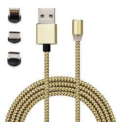 Cable magnétique 3 en 1