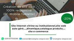 Création / boost de site web