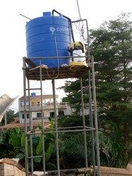 Lavage des tanks d'eaux
