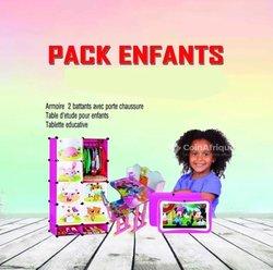 Pack enfant Armoire - Table d'études - Tablette éducative