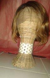 Perruque indienne avec lace frontale