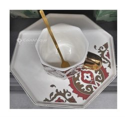 Tasses à café - sous tasses