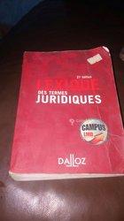 Lexique des Termes Juridique et Canal Plus HD