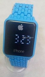 Montre iPhone tactile multicouleur