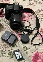 Appareil photo Canon EOS 70D - objectif 18-135