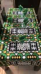 Nappe de table à manger -  6 places