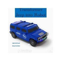 Voiture déformable en robot