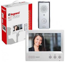 "Kit vidéophone 4,3"" portier Legrand."