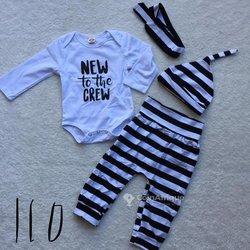 Ensemble vêtements bébé 4 pièces