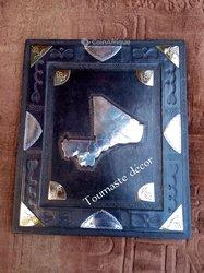 Mini tableau cuir - Carte du Mali