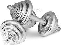 Haltères de musculation 30 Kg