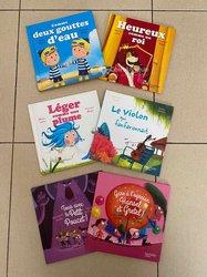 Lot de 6 petits livres