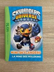 Livre bibliothèque verte Skylanders