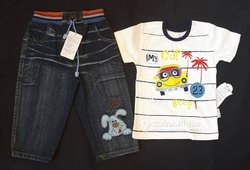 Ensemble t-shirts - jeans 3ans