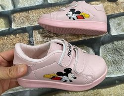 Chaussures Mickey rose pâle fillettes
