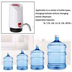 Pompe filtre à eau électronique pour bouteilles