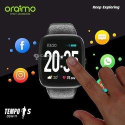 Montre connectée Oraimo