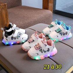 Chaussures de lumière garçon