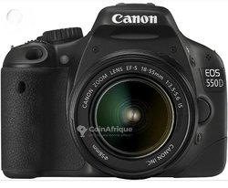 Appareil photo Canon d550