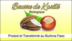 Beurre de karité biologique certifié