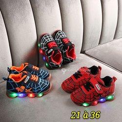 Chaussures de lumière pour garçon