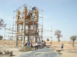 Construction de château d'eau