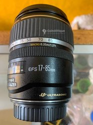 Objectif Canon 17-85mm