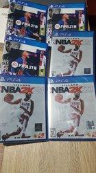 Jeux vidéos PlayStation 4 Fifa 21 - NBA 2k21