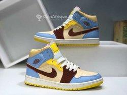 Baskets Air Jordan Nike montantes