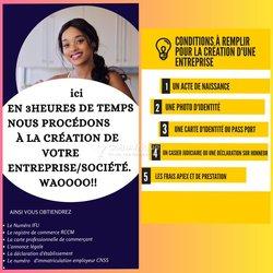 Assistance en création d'entreprises