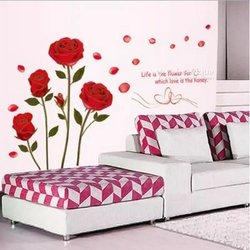 Fleurs de décorations murales