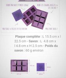 Moule en silicone - carré