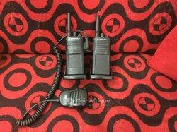 Motorola talkie-walkie.