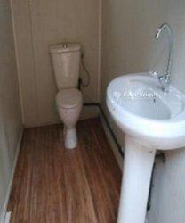 Toilette déplaçable - 1,35m/1,35