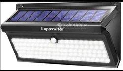 Lampe solaire avec détecteurs de mouvements