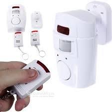 Alarme t détecteur de mouvements