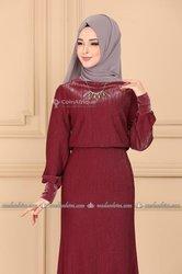 Robe de soirée mode musulmane