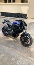 MT 07 moto 2020