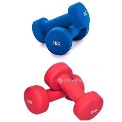 Paires d'haltères de musculation
