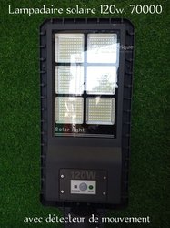 Lampadaire solaire 120w