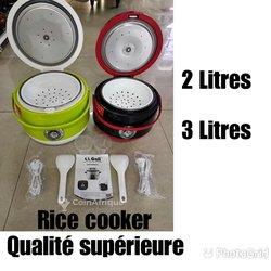 Cuiseur de riz + Thermos + Chauffe eau
