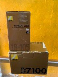 Appareil photo Nikon d7100 - objectif nikon 18-105mm