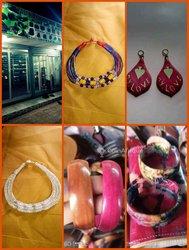 Colliers - bracelets cuir