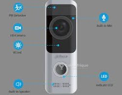 Interphone vidéo connectée au téléphone