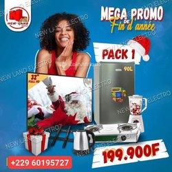 Packs TV / Réfrigérateur / Cuisinière