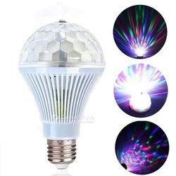 Lampe rotative jeux de lumières