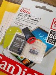 Cartes mémoire 64Gb - 128Gb - 254Gb - 32Gb
