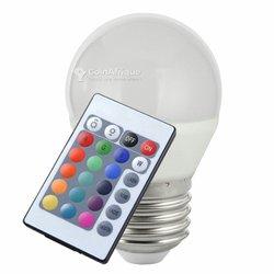 Ampoule multicolore à commande