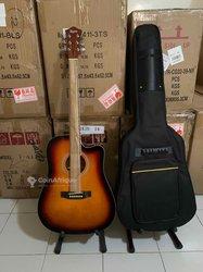 Guitare acoustique - housse transport