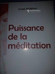 Livre - puissance de la méditation